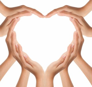 Kerk met hart en handen